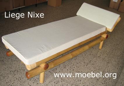 wellnessliegen wellnessmoebel bambusbetten liegen aus bambus. Black Bedroom Furniture Sets. Home Design Ideas