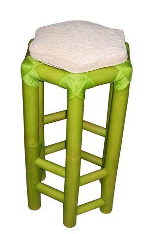 Barhocker Grün bambusmöbel barhocker hocker aus bambus