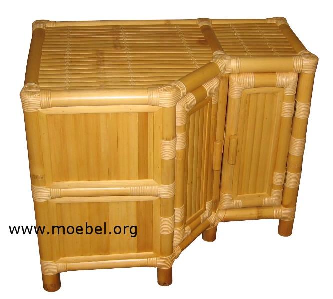 bambusm bel eckschr nke und kommoden sonderanfertigung aus bambus. Black Bedroom Furniture Sets. Home Design Ideas