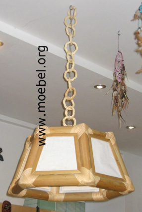 Bambuslampen h ngelampen stehlampen nachttischlampen for Stehlampen designerlampen