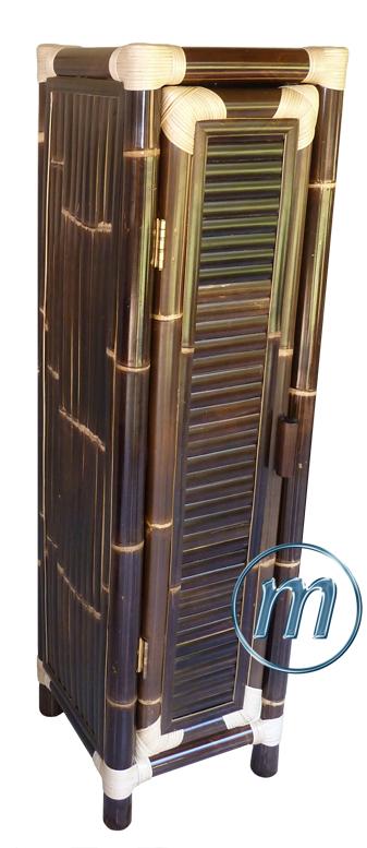 Bambusmbel bambusschrnke kommoden nachtkstchen schrnke for Schwarzer schuhschrank