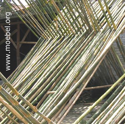 Rohre für Bambusmöbel