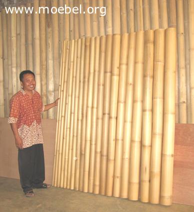 Auswahl der Rohre für Bambusmöbel