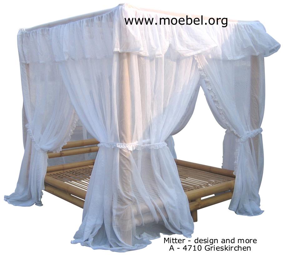 himmelbetten bambus himmelbett. Black Bedroom Furniture Sets. Home Design Ideas