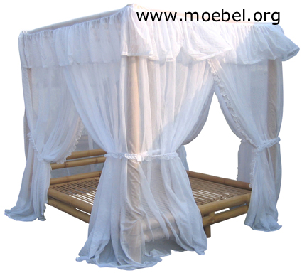 himmelbetten aus bambus bambusbetten doppelbetten singlebetten aus bambus. Black Bedroom Furniture Sets. Home Design Ideas