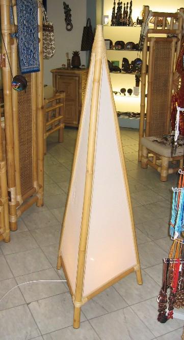 Bambuslampen bodenlampen stehlampen for Stehlampen designerlampen