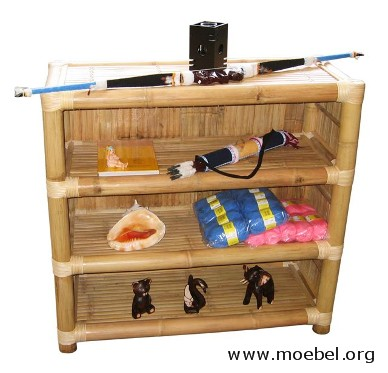 bambusm bel bambusregale regale aus bambus b cherregale. Black Bedroom Furniture Sets. Home Design Ideas