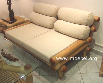 Bambussofa sofa aus bambus bambusm bel for Sessel italienisch