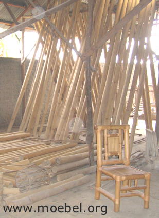 Rohre fuer Bambusmoebel