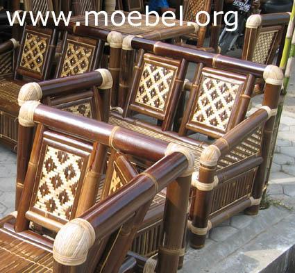 bambusm bel m bel aus schwarzem bambus. Black Bedroom Furniture Sets. Home Design Ideas