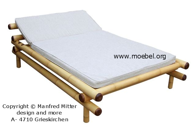 bambusliege verstellbar. Black Bedroom Furniture Sets. Home Design Ideas
