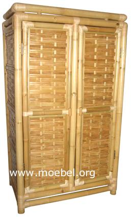 bambusm bel schrank aus bambus kleiderschrank. Black Bedroom Furniture Sets. Home Design Ideas