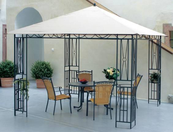 Pavillon Zelt Jumbo : Stühle tische und liegen für den garten alu metall