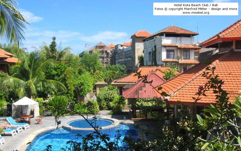 Hotels in bali indonesien bewertungen for Kuta beach hotel