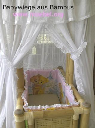 babywiege aus bambus. Black Bedroom Furniture Sets. Home Design Ideas