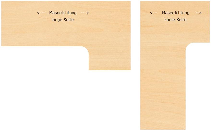 tischplatten eckig oder sonderform platten borde nach ma. Black Bedroom Furniture Sets. Home Design Ideas